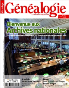n° 191 Bienvenue aux Archives nationales