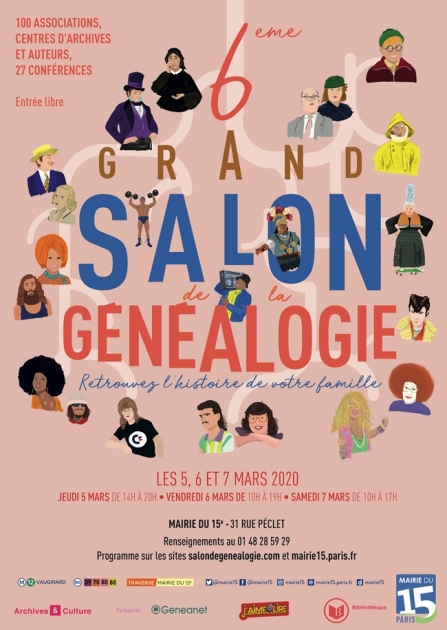 Grand Salon Genealogie 2020