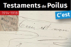 Testaments des poilus Transcription collaborative