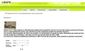 AD 27   Les recensements de l Eure sont en ligne... jusqu en 1968 9dd83425f5b4