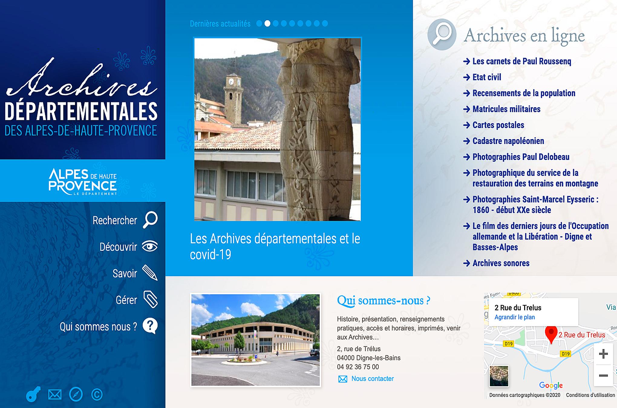 Alpes de Haute-Provence : les recensements de 1921 à 1936 sont en ligne