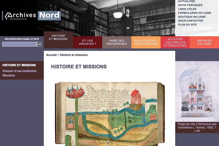 des centaines d 39 instruments de recherche en ligne aux archives du nord. Black Bedroom Furniture Sets. Home Design Ideas