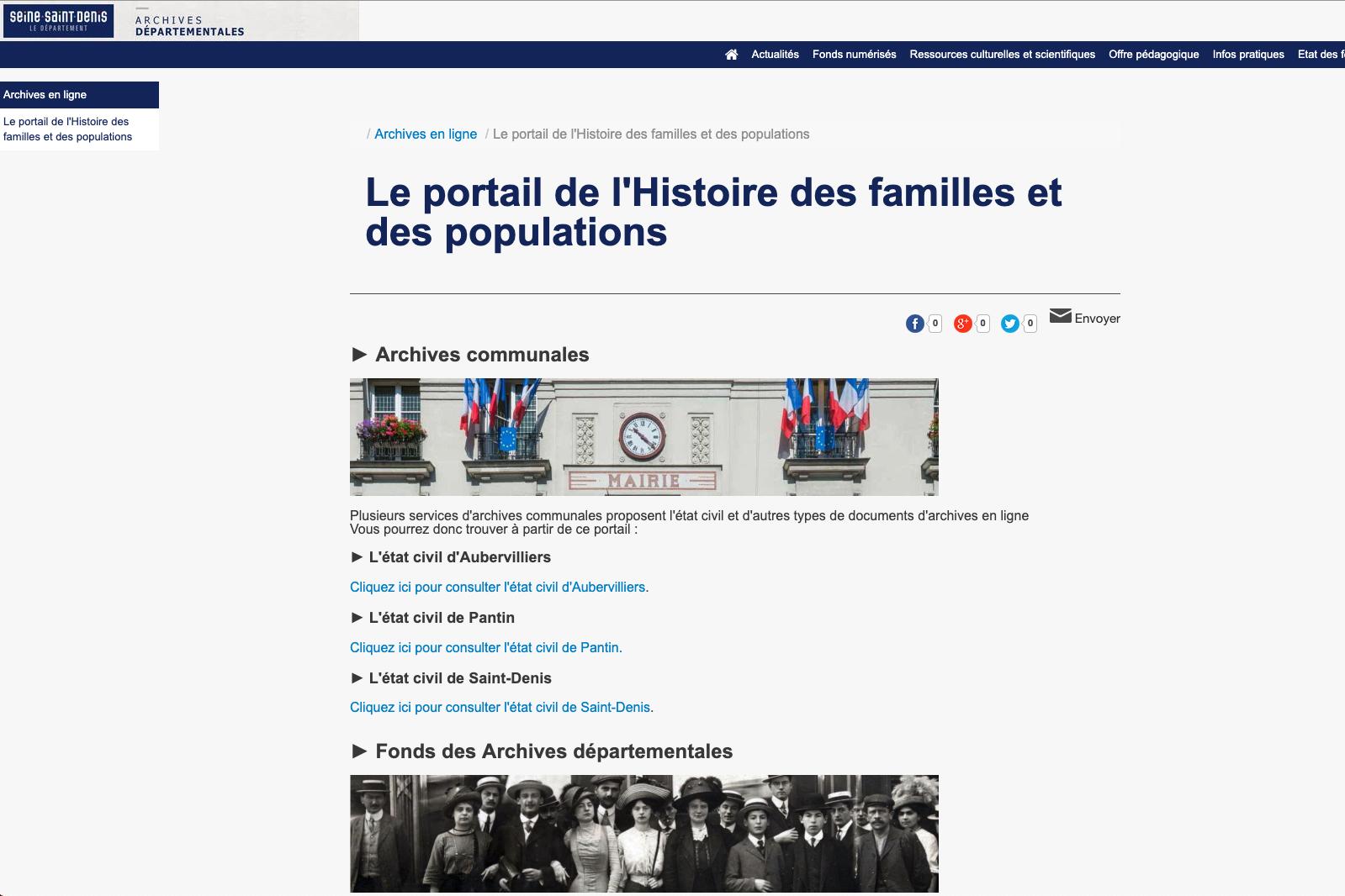 Seine-Saint-Denis : l'état civil est en ligne