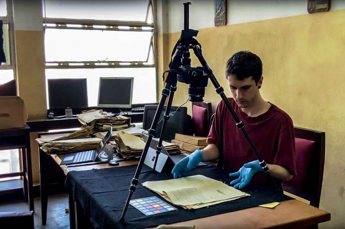 Sierra Leone : les archivistes numérisent la mémoire de l'esclavage