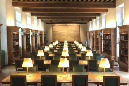 Réouverture de la salle de lecture de la Bibliothèque historique de Paris