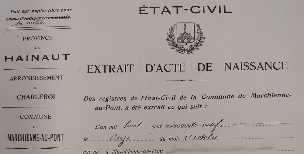 Belgique : des précisions sur l'accès aux actes d'état civil