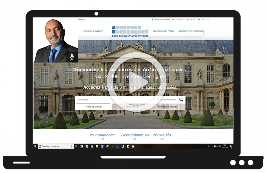 Webinaires Archives nationales