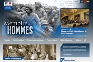 recherche nominative mémoire des hommes)
